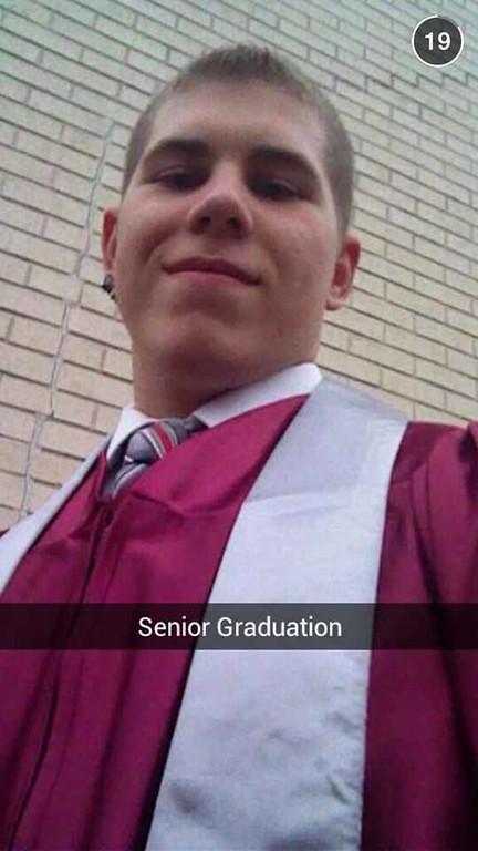 . Andrew Raskiewicz graduates from Central Montco Tech.