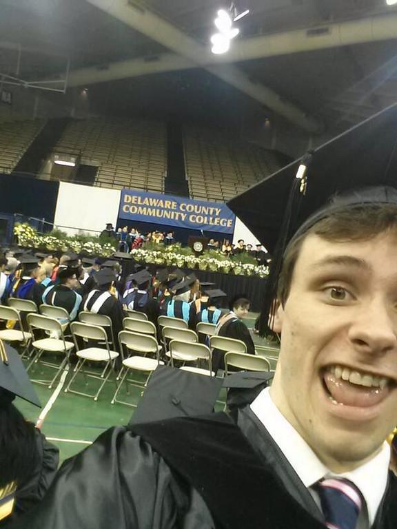 . Jake Scully graduates.